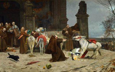 """Regreso al convento"" (1868), de Eduardo Zamacois y Zabala"