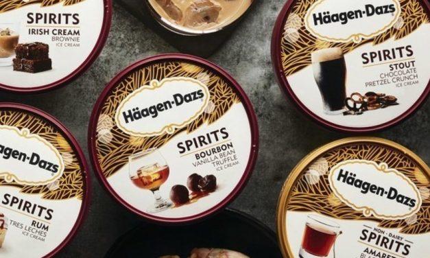 Häagen-Dazs crea helados con infusión de alcohol