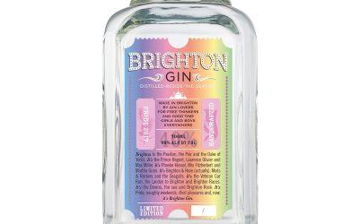 Gin Brighton lanza su botella de edición especial para el Pride