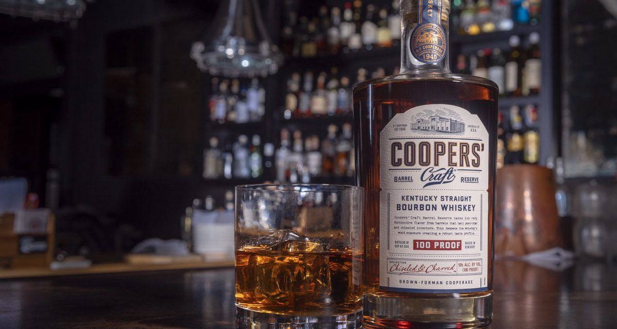 Brown-Forman amplía la gama Craft de Coopers con Coopers' Craft Barrel Reserve
