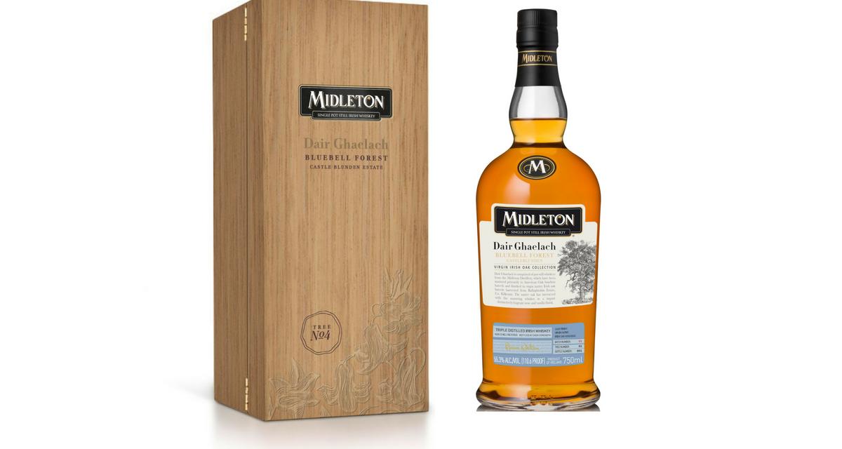 Midleton cultiva la gama de whisky de roble irlandés virgen con Midleton Dair Ghaelach Bluebell Forest