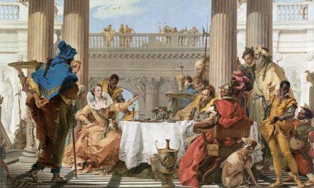 """""""El banquete de Cleopatra"""" (1743-1744), de Giambattista Tiepolo"""