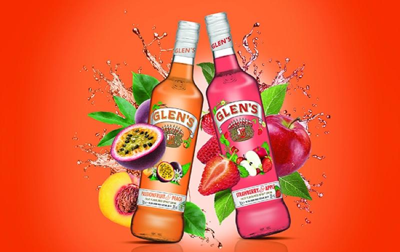 Glen's Vodka lanza licores con bajo contenido de alcohol