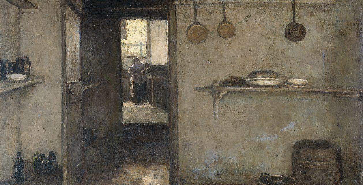 """Casa baja en La Haya"" (1888), de Jan Hendrik Weissenbruch"