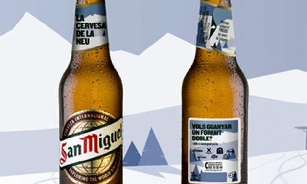 'San Miguel' lanza ediciones especiales para estaciones de esquí