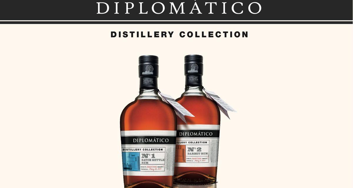 Diplomático lanza Distillery Collection con dos nuevos rones