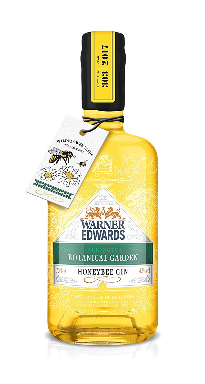 Warner Edwards lanza una ginebra con infusión de miel, Honeybee Gin