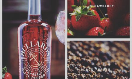 Bullards Spirits presenta su ginebra de fresa y pimienta negra, Strawberry & Black Pepper Gin