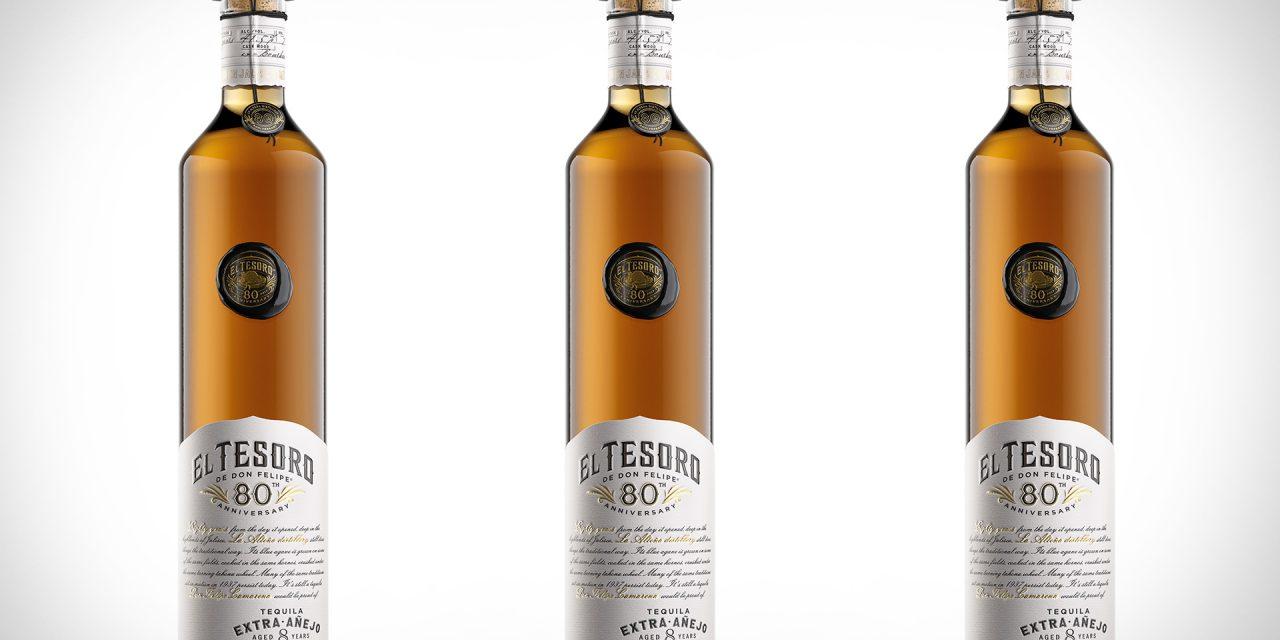 El Tesoro estrena tequila para su 80 aniversario