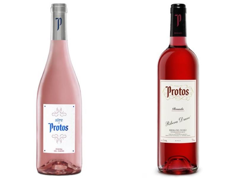 Bodegas Protos presenta las nuevas añadas 2018 de sus rosados