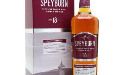Speyburn Distillery amplía su gama con un nuevo single malt de 18 años