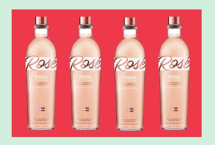 Svedka se fija en el mercado del vino con su nuevo vodka rosado