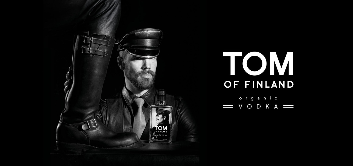 Un vodka inspirado por Tom of Finland y la cultura gay se lanza en el Reino Unido
