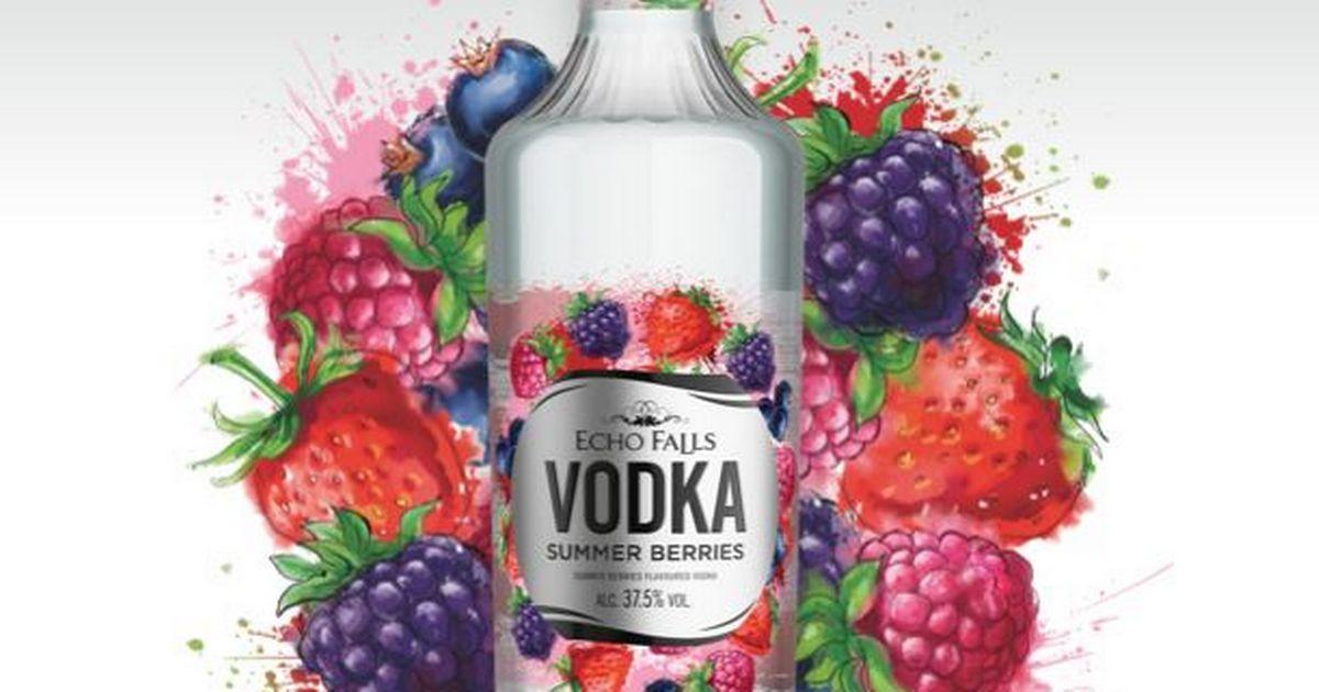 Echo Falls se traslada al vodka aromatizado con Echo Falls Summer Berries Vodka