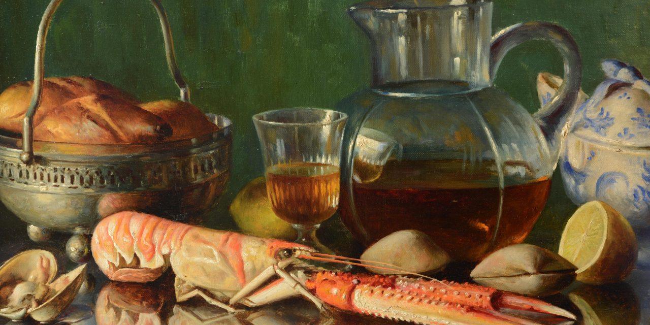 """""""Bodegón"""" (1933), de Asterio Mañanós Martínez"""