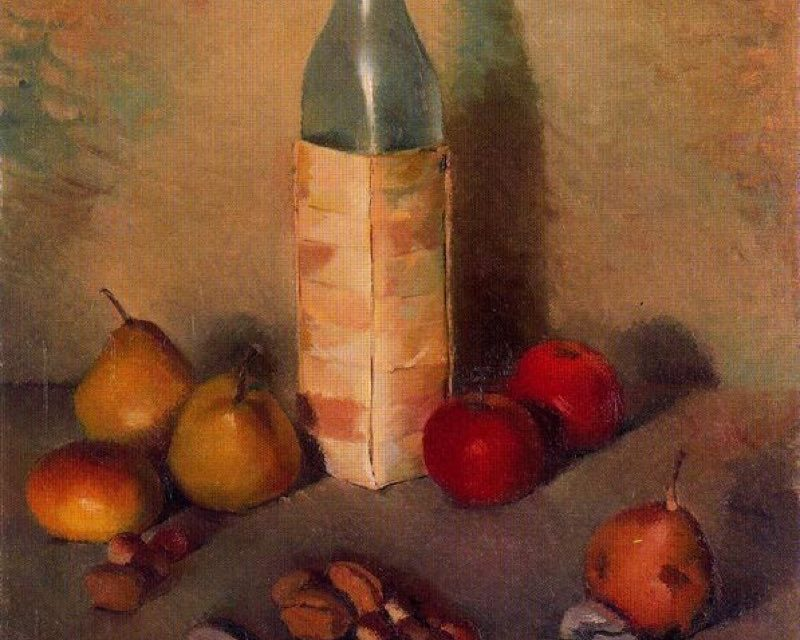 """""""Bodegón"""" (1945), de Genaro Lahuerta"""