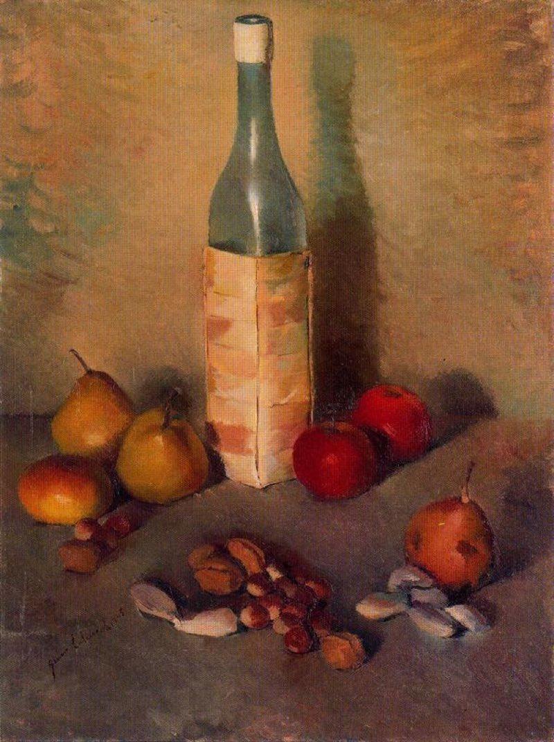 Bodegón (1945), de Genaro Lahuerta