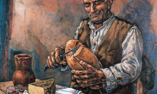 """""""El pan nuevo de cada década"""" (1941), de José Vela Zanetti"""