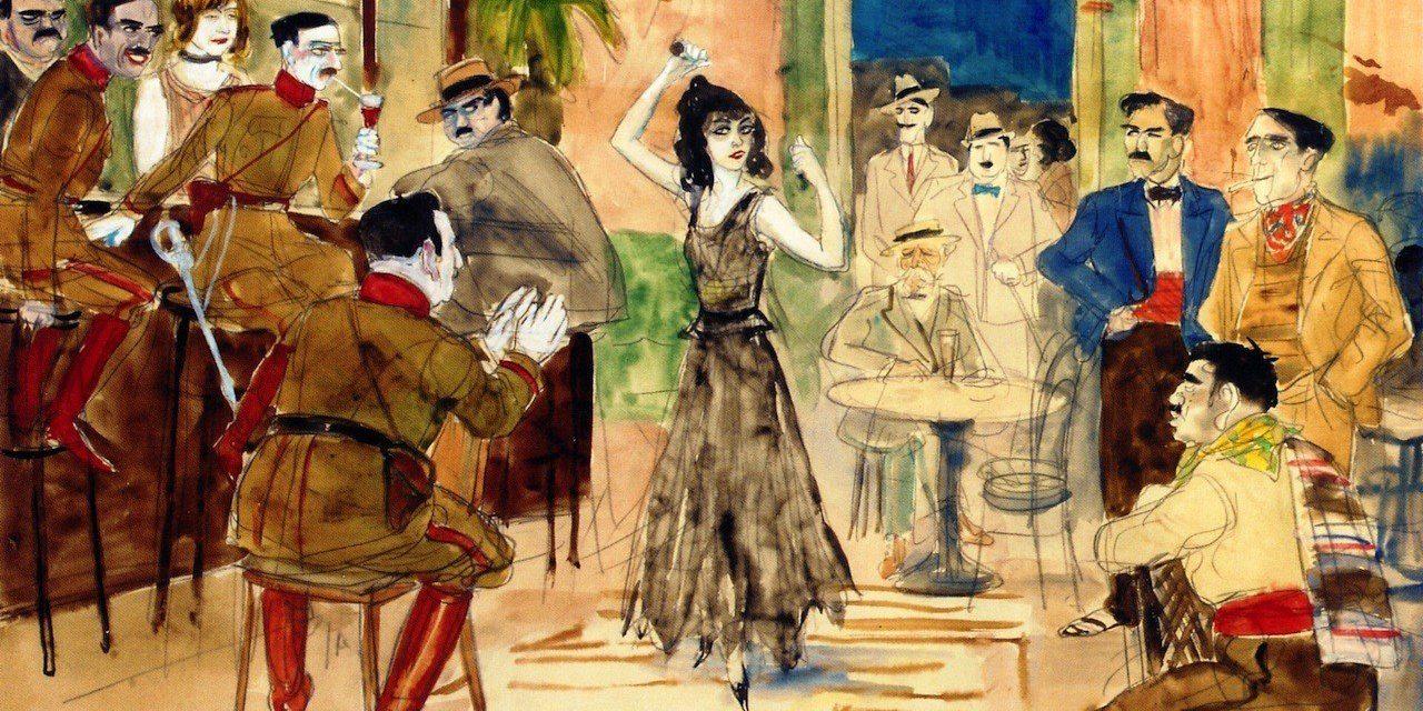 """""""Escena de baile en un bar"""" (1925), de Rudolf Schlichter"""