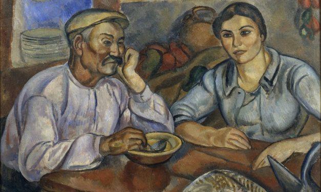 """L' esmorzar"" (1915), de Joaquim Sunyer"