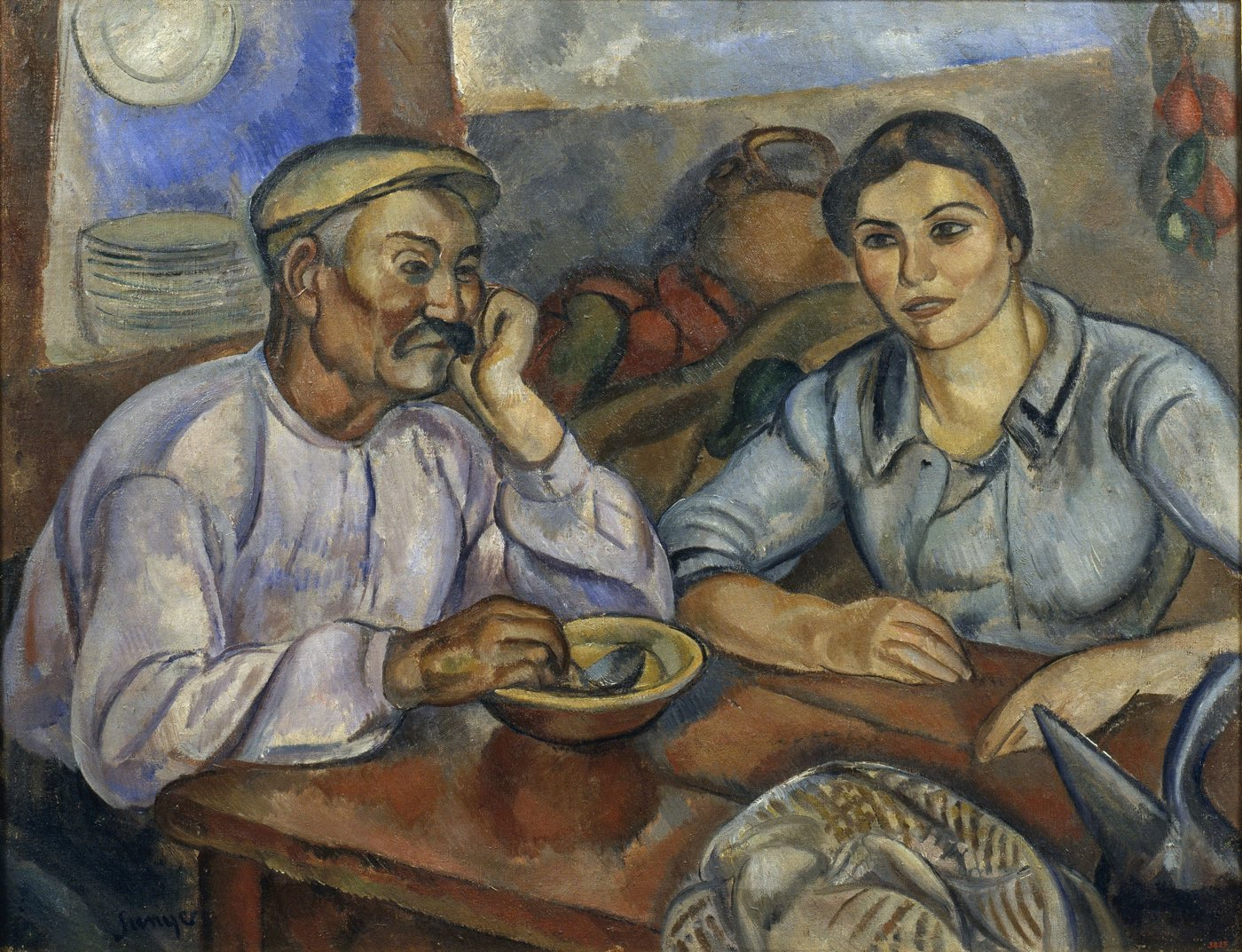 L' esmorzar (1915), de Joaquim Sunyer