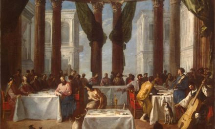 """""""Las bodas de Caná"""" (1640), de Johann Heinrich Schönfeld"""