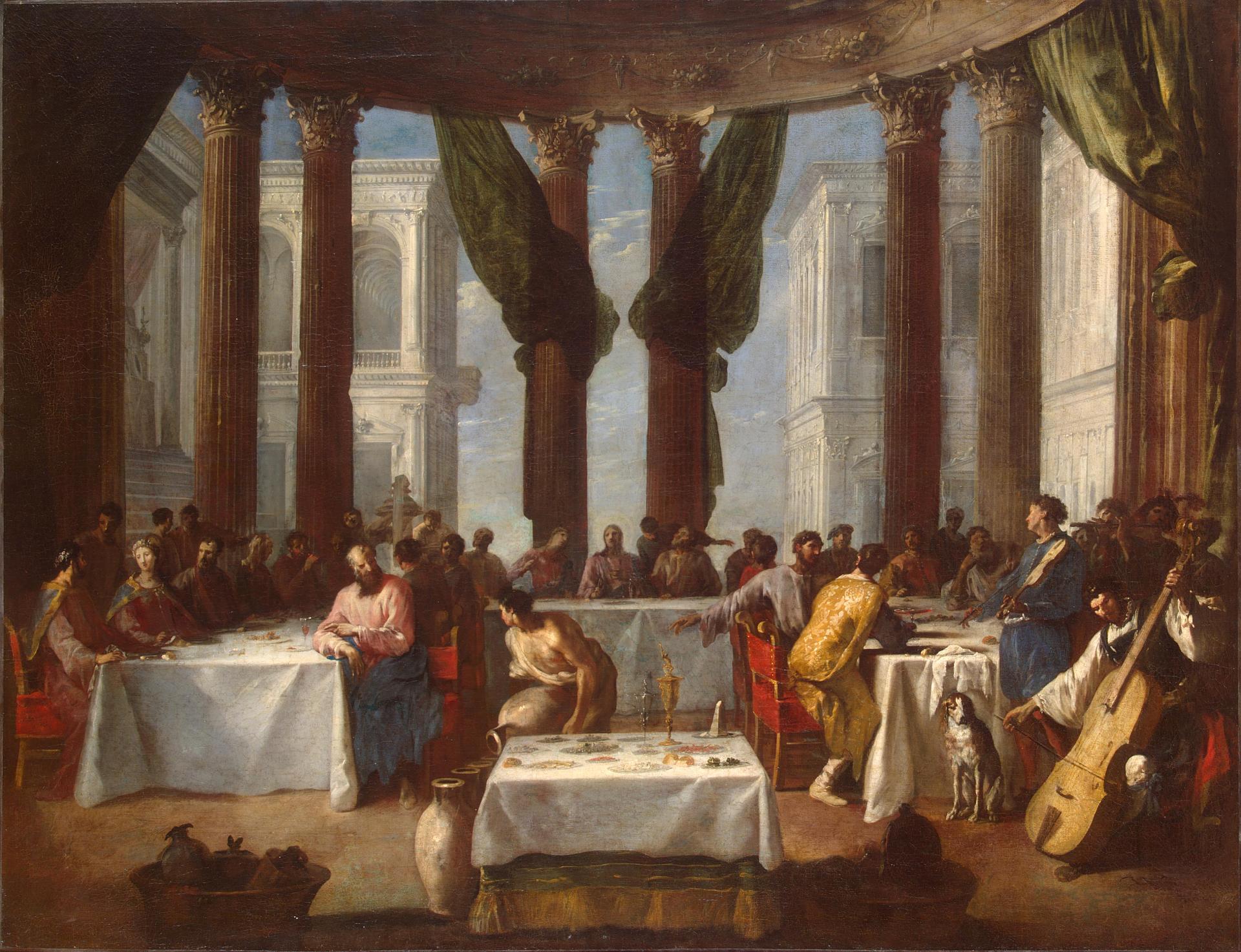 Las bodas de Caná (1640), de Johann Heinrich Schönfeld