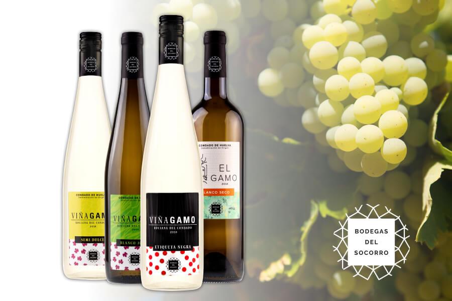 Bodegas del Socorro renueva la imagen de su gama de vinos blancos y mostos