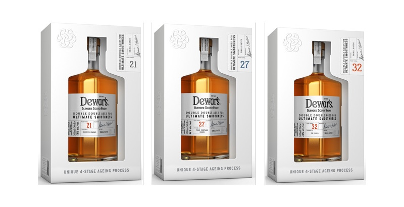 """Dewar's lanza la exclusiva gama """"Double Double"""" de GTR"""