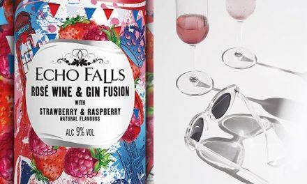 Echo Falls crea vino rosado con infusión de ginebra, Echo Falls Rosé Wine and Gin Fusion