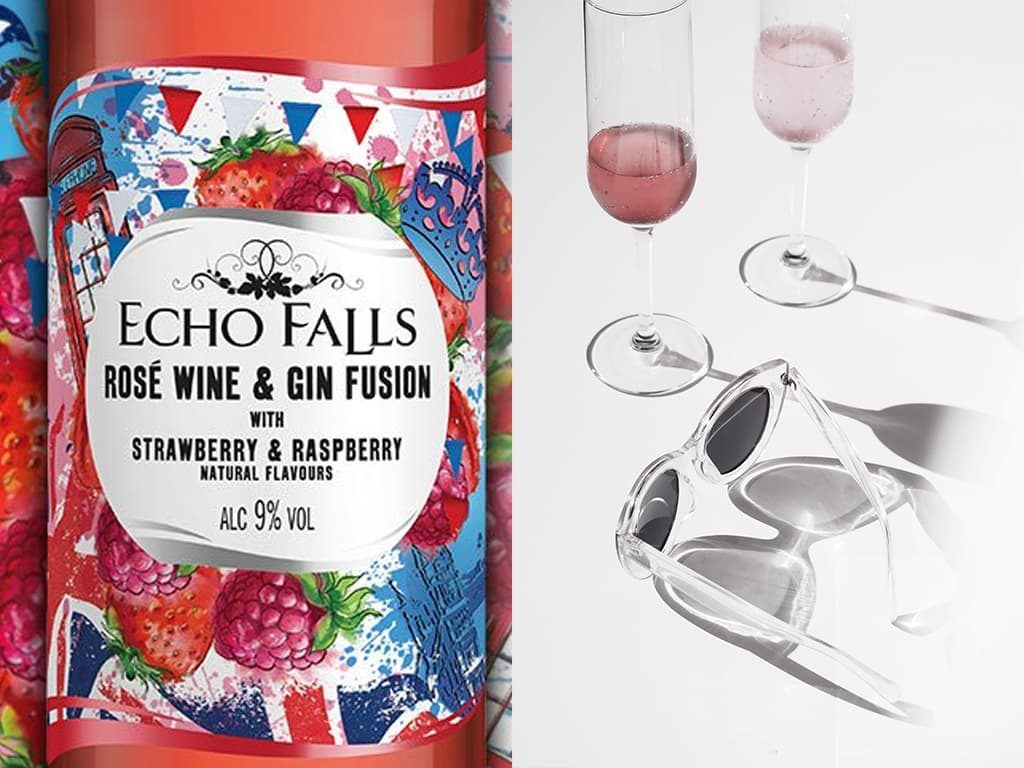 Echo Falls Rosé Wine and Gin Fusion