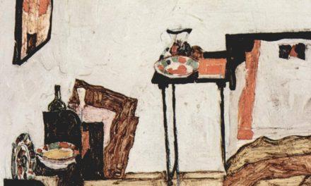 """La habitación de Schiele en Neulengbach"" (1911), de Egon Schiele"