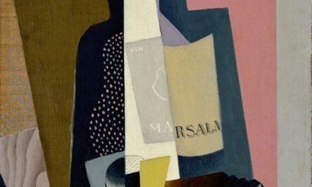 """""""Bodegón con botella Marsala"""" (1917), de Gino Severini"""