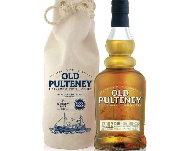 Old Pulteney presenta el exclusivo whisky Viking Line