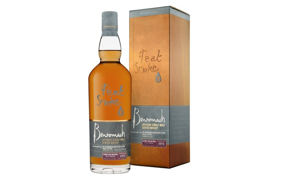 Benromach lanza el whisky de Jerez madurado en barril, Benromach Peat Smoke Sherry Cask Matured