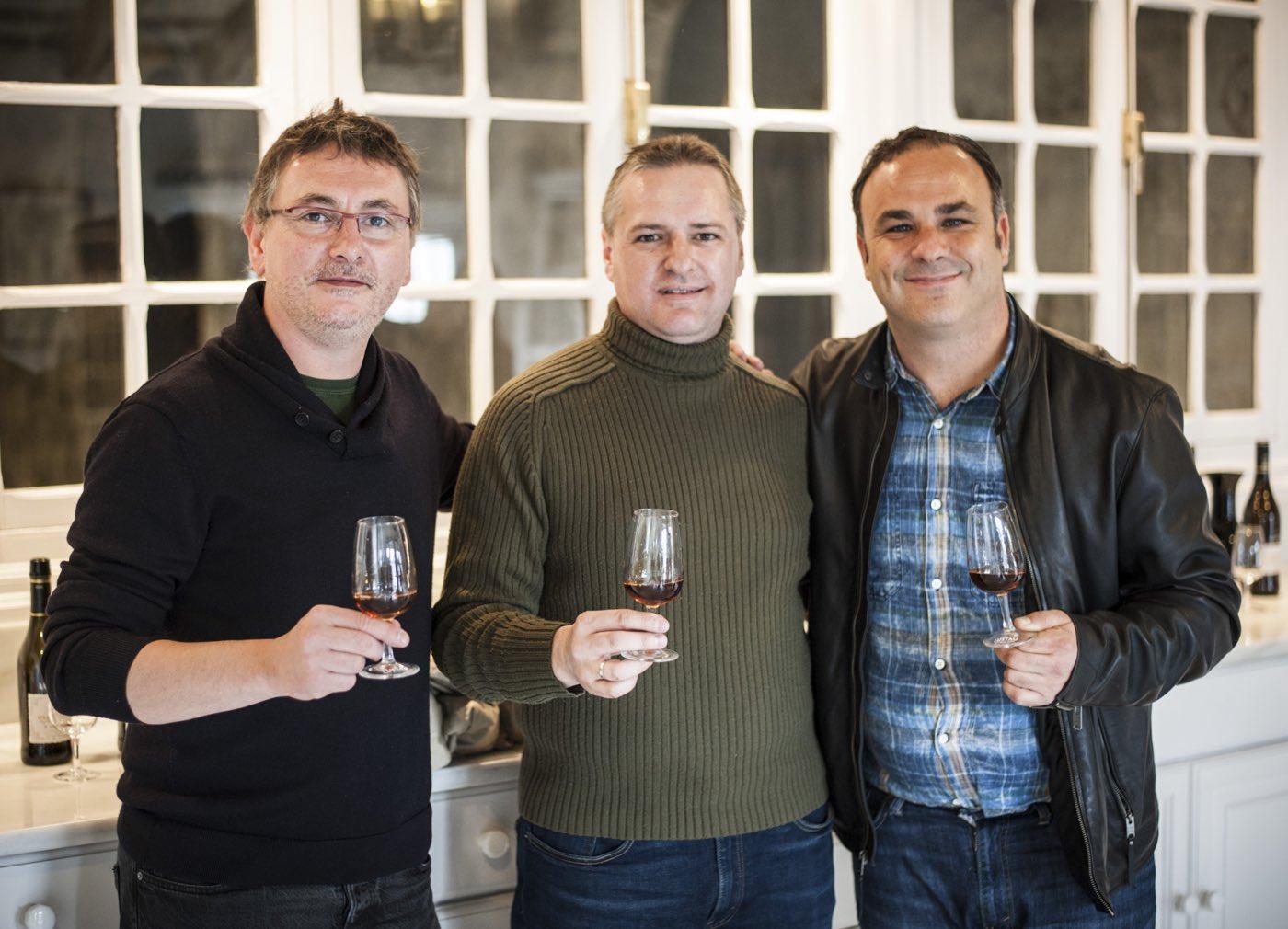 Sergio Mtnez + Ángel León + Andoni Luis Aduriz