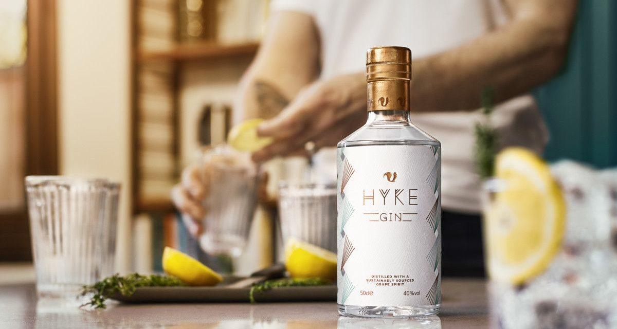 Foxhole Spirits crea Hyke Gin con excedentes de uvas