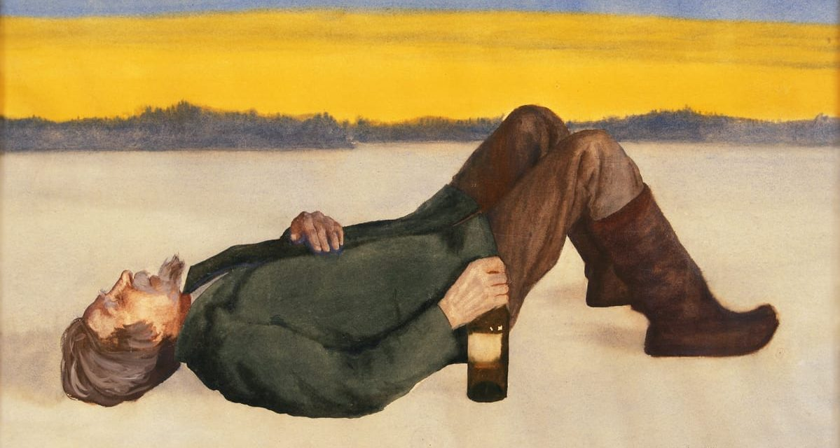 """El bebedor"" (1902), de Juho Rissanen"