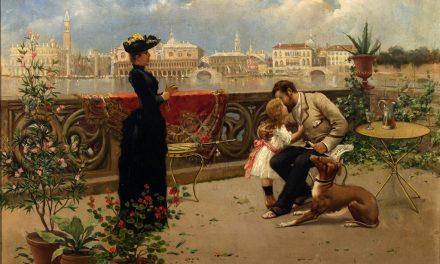 """Familia veneciana"" (1876), de José Echenagusia"