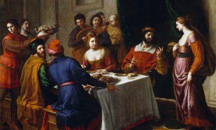"""""""La mesa de Herodes o El baile de Salomé"""" (después de 1630), de Alessandro Turchi"""