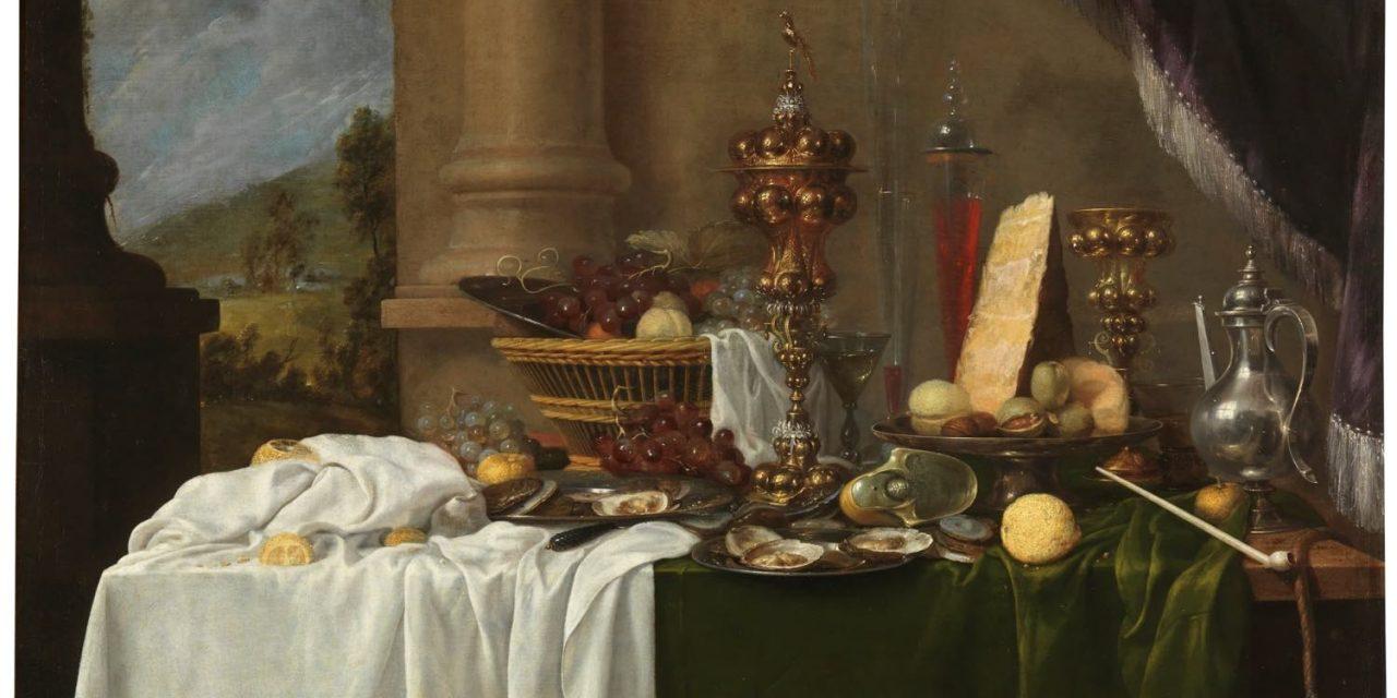 """""""Mesa con postres"""" (segundo tercio del siglo XVII), de Andries Benedetti"""