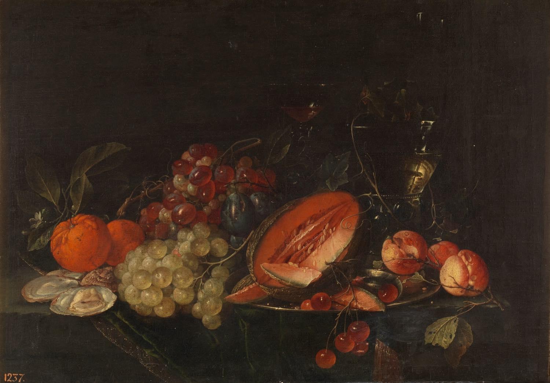 Mesa (hacia 1670), de Cornelis de Heem