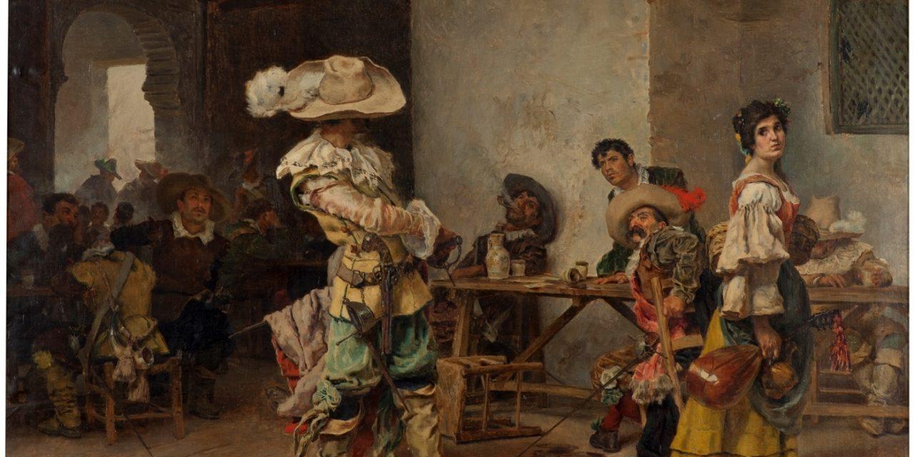 """Un fanfarrón"" (1880), de Antonio Muñoz Degrain"
