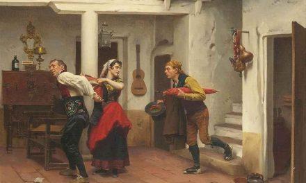 """""""Una salida rápida"""" (1863), de Jules Worms"""