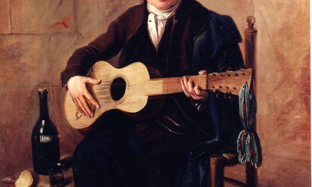 """El guitarrista"" (1800), de Bartolomé Montalvo"