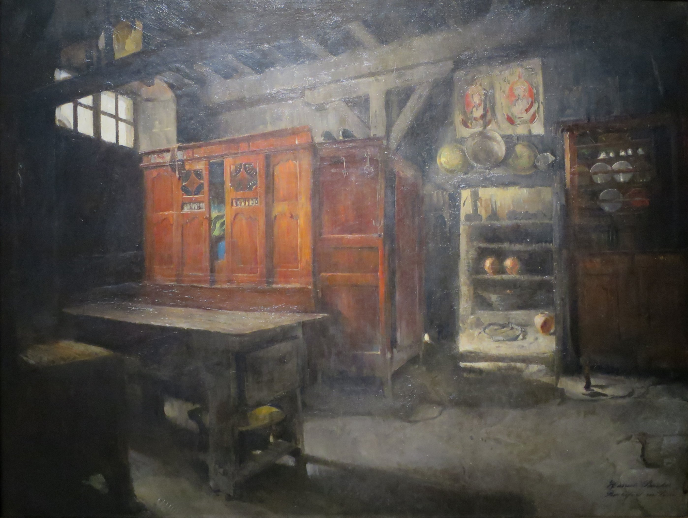 'Breton_Interior'_by_Harriet_Backer,_1882,_Bergen_Kunstmuseum