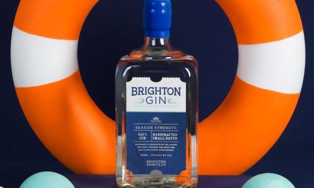 Brighton Gin presenta Brighton Gin Seaside Strength Navy