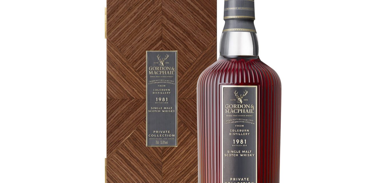 Gordon & MacPhail innova en su Private Collection con un whisky de 38 años de Coleburn Distillery