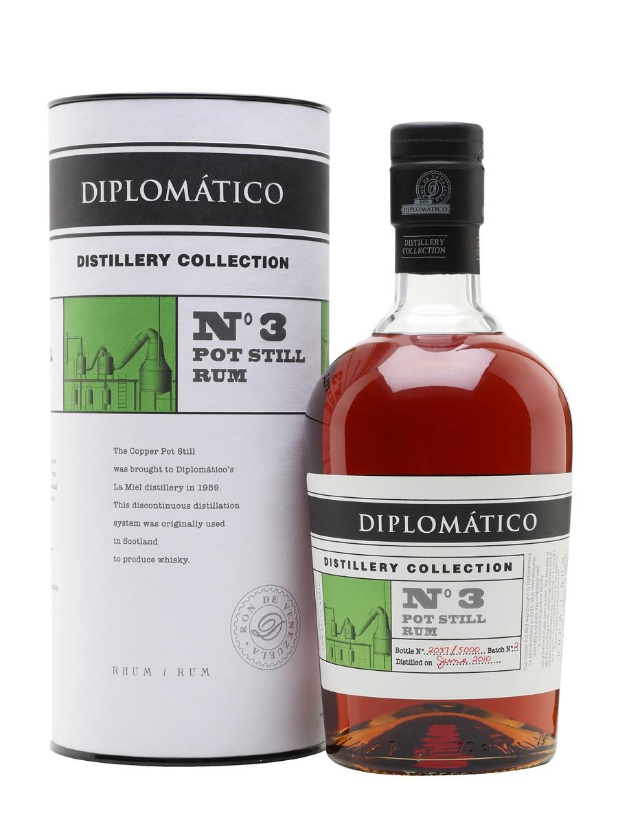 Diplomático No. 3 Pot Still Rum