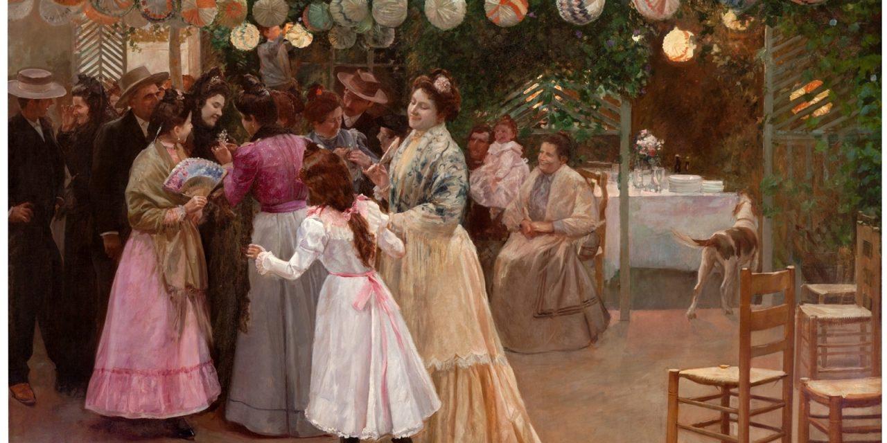 """""""El azahar de la novia"""" (1901), de José Felipe Abárzuza y Rodríguez de Arias"""